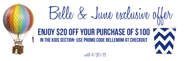 Belle and June discount