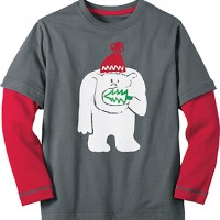 snow critters t shirt