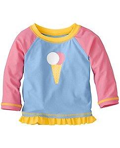 Ice Cream Baby Rash Guard