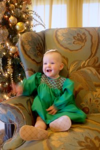 Dapper Dressers: A trick to finding smocked Christmas clothes on sale