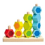 Counting Colorful Stacking Toy