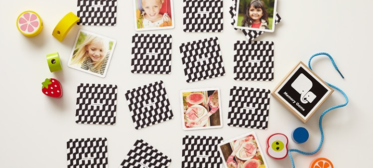 Make Your Own Memory Game with Family Photos