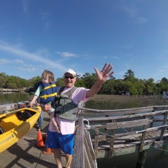 On the Water with a Toddler: Kayak Hilton Head