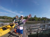 Toddler kayaking hilton head