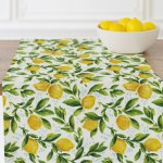 Lemon Tablerunner