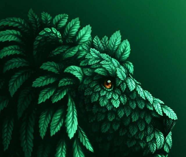 Green Leave Lion Iphone S Wallpapers Beautiful Iphone Six Wallpaper