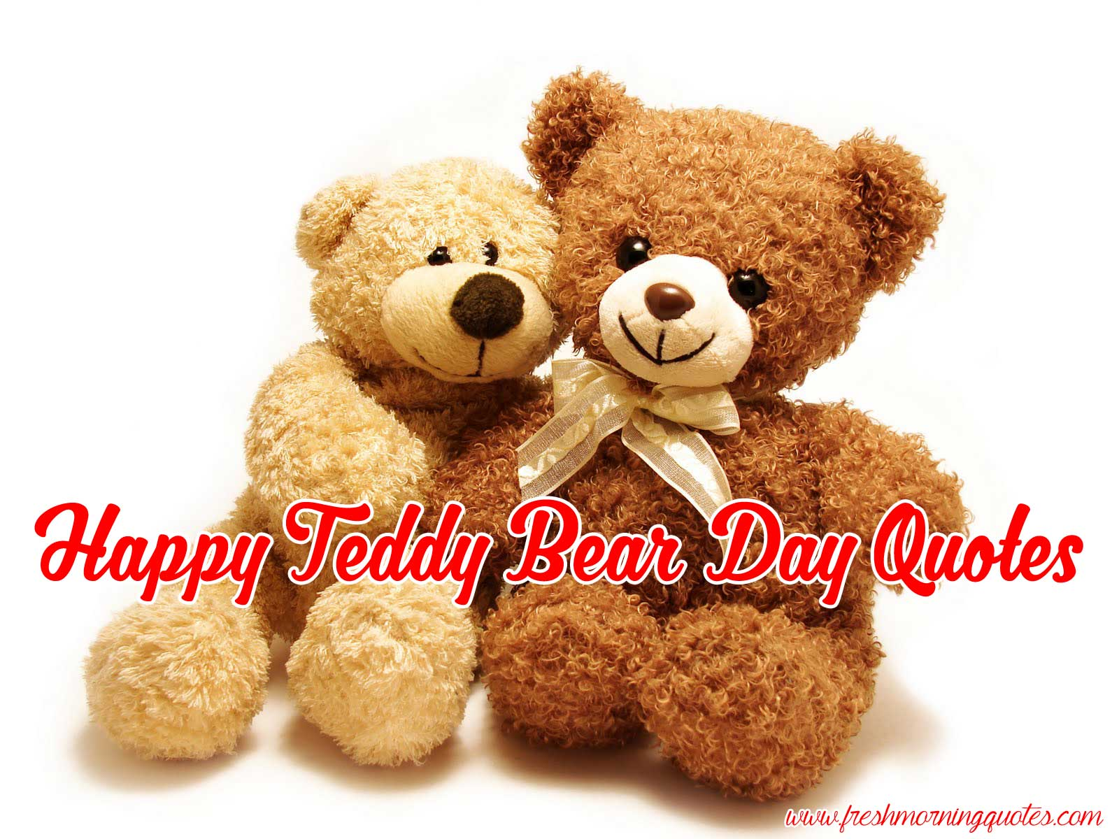 Teddy Bear Day 2018 Quotes Sayings And Images
