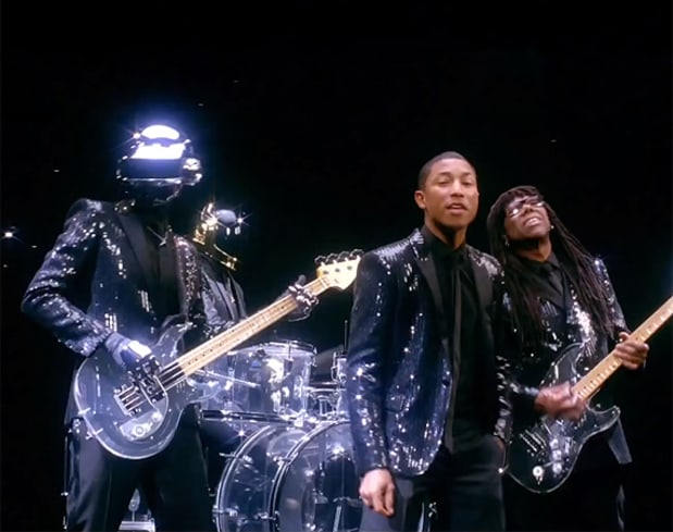 """Daft Punk - """"Get Lucky"""" featuring Pharrell Williams and Nile ..."""