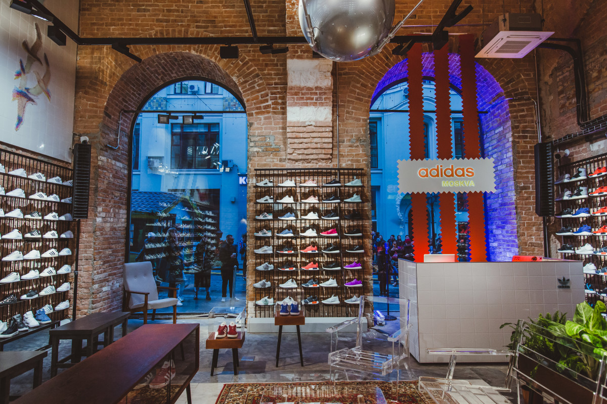 Adidas Originals Opens First Flagship Store In Moscow Freshness Mag