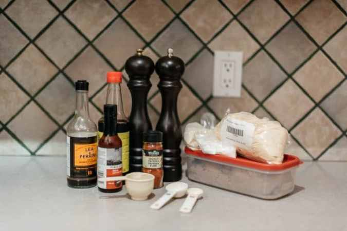 Ingredients to Make Beef Jerky Marinade (Recipe)
