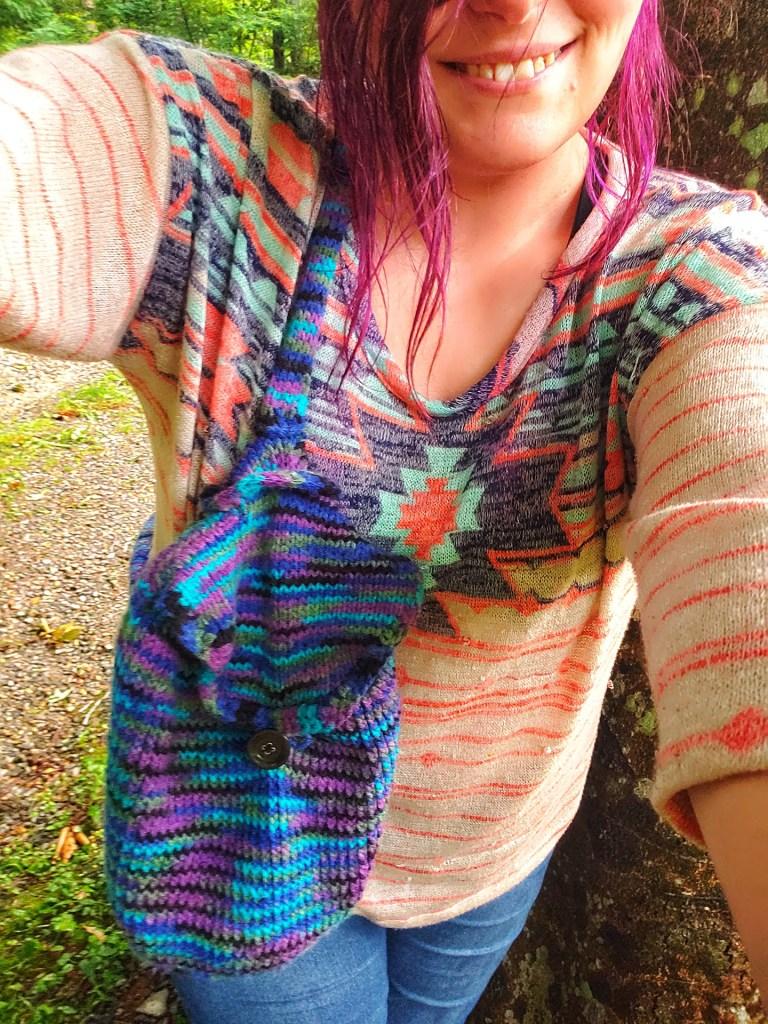 The Santa FeNights Bag FREE KNITTING pattern Crochet tutorial purse