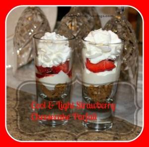 strawberry cheesecake parfait111