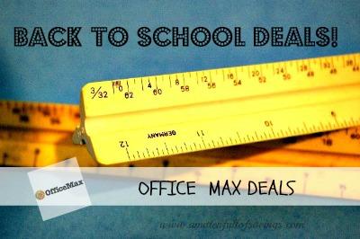 OFFICE MAX DEALS
