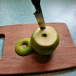 Easy Apple Pie Cut Apple
