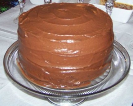 homemade chocolate cake 3