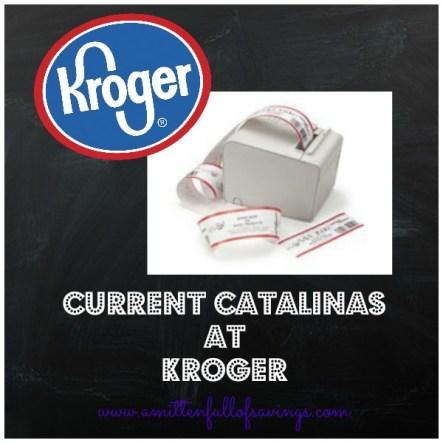 kroger current catalinas
