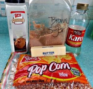 Oven Caramel Corn Ingredients (1)