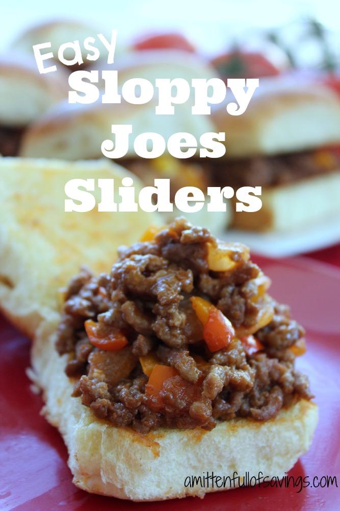 How To Make Sloppy Joe Sliders