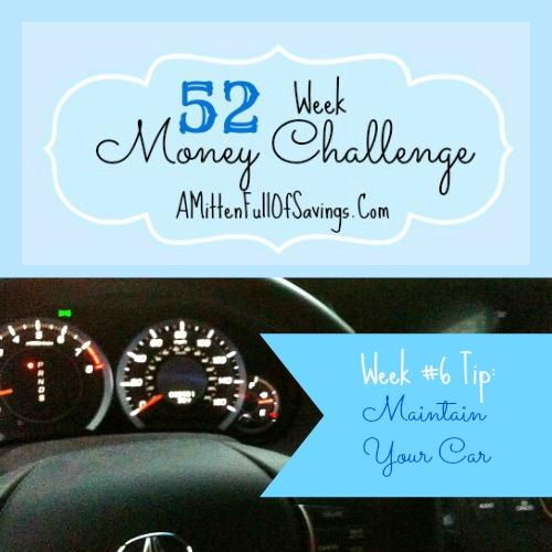 52 Money Save Ways: Week 6: Maintain Your Car