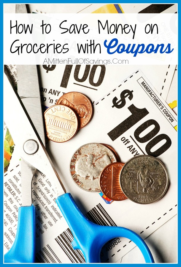 how to save money on groceries with coupons