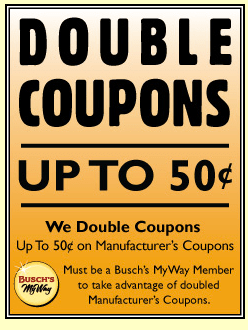 busch coupon policy