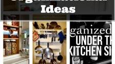 Kitchen Organizational Ideas
