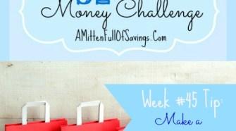 52 ,pmey save ways week 45 make a gift closet