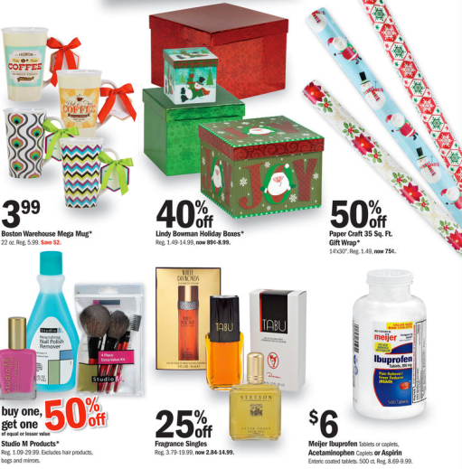 Meijer day sale this weekend