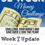 52 Week Money Challenge - Week 7