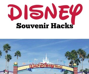 Heading to Disney? Here's a few Disney Hacks on ways to save with Easy Disney Souvenir Hacks - Definitely a must read before your vacation!