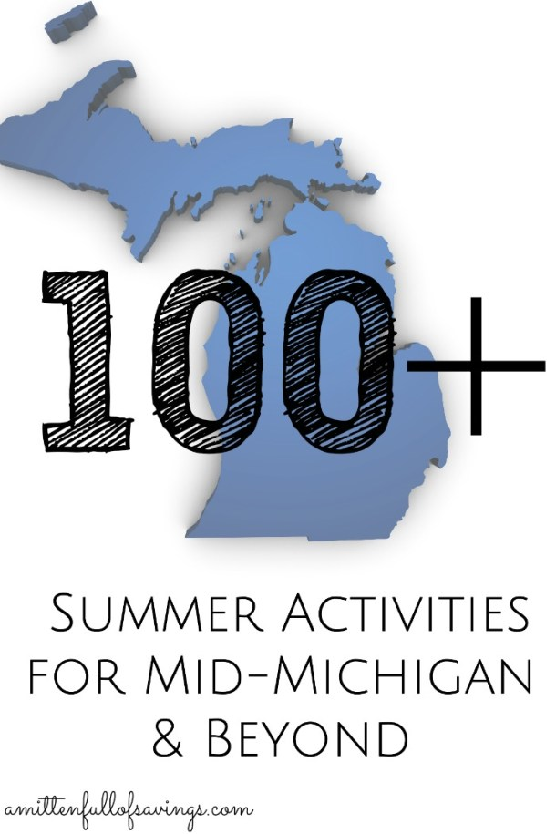 Summer Bucket List of Summer Activities for Mid-Michigan and Beyond