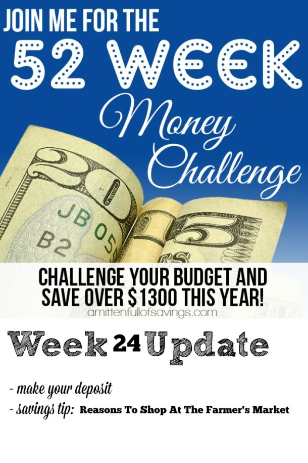 52 Week Money Challenge Reasons To Shop At The Farmer's Market