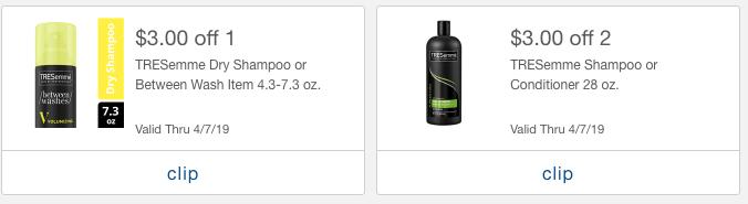 TRESemme mPerk offers