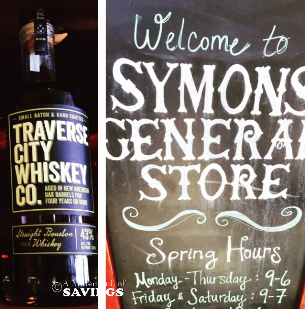 traverse city whiskey from symons general store