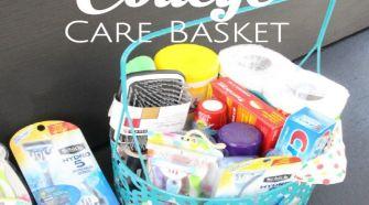 Schick College Care basket
