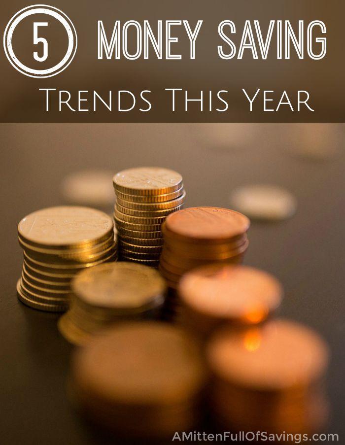 5 Money Saving Trends This Year