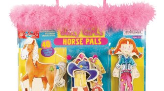 T.S. Shure Daisy Girls Horse Pals Wooden Magnetic Dress-Up Set