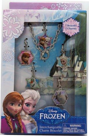 Disney Frozen Jewelry Box Set with Metal Charm Bracelet Only $4.82 (Reg. $11.99)