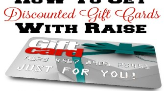 How To Get Discounted Gift Cards With Raise