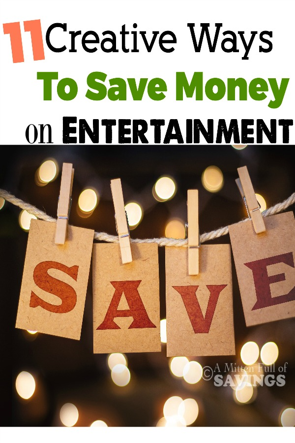 Save money on entertainment with these creative and frugal methods!