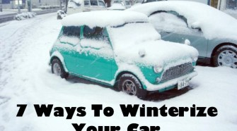 7 Ways To Winterize Your Car