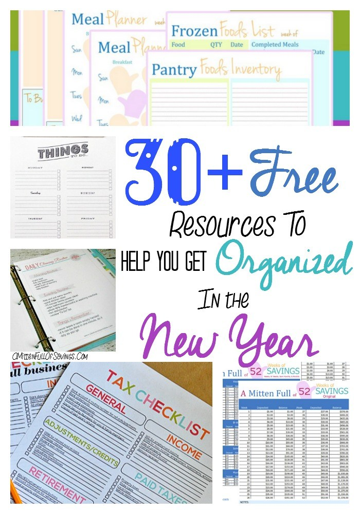 30-free-resources-to-help-you-get-organized-in-the-New-Year