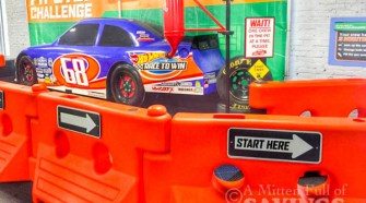 HotWheels exhibit at Impression 5