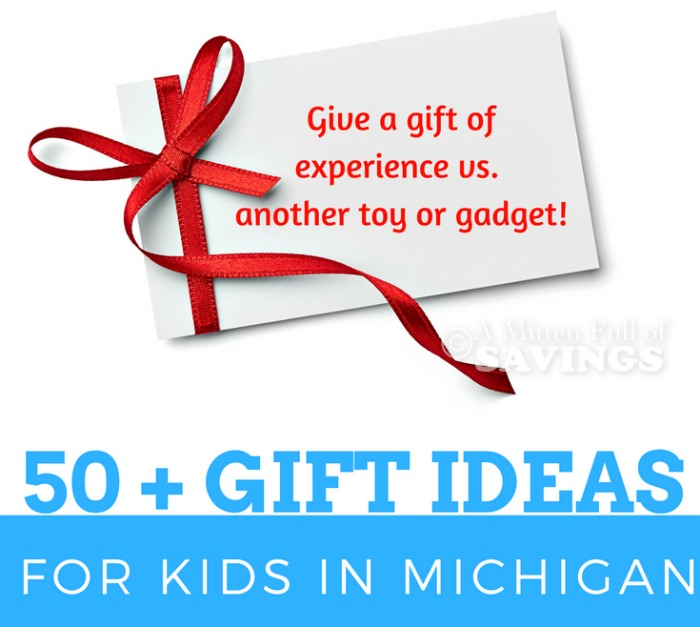 Are you looking for Christmas Gift ideas that are not toys? How about giving the gift of experience? Here's a list of the top gift experience ideas you can have in the Mid-Michigan and surrounding areas! This is a perfect non-toy gift idea!