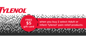 Target: Save $5 on TYLENOL® Products