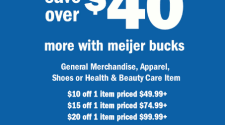 Meijer Summer Bucks This Weekend
