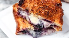 Grilled Cheese and Blueberries Strangewich