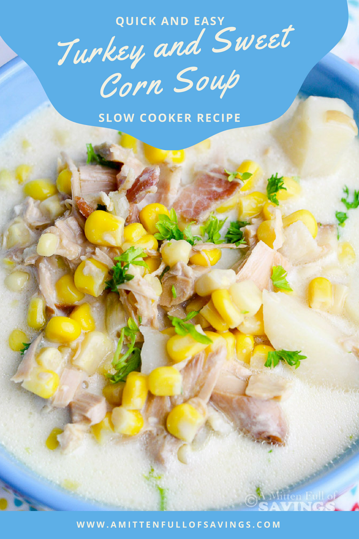Turkey and Sweet Corn Soup Recipe