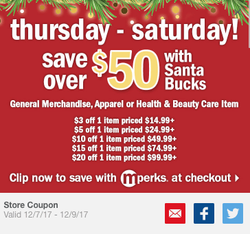 picture regarding Meijer Printable Coupons identify Meijer: Best Santa Dollars offers for this weekend 12/7-12/9