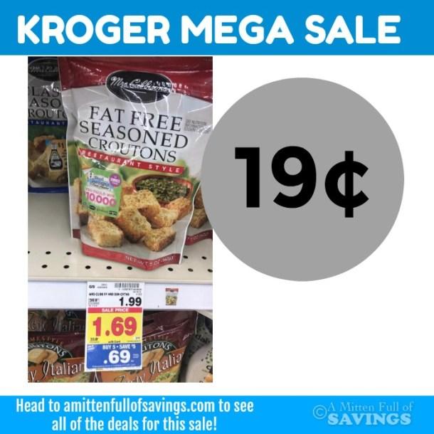 Kroger MEGA: Mrs Cubbisons Croutons 19 cents #stockup